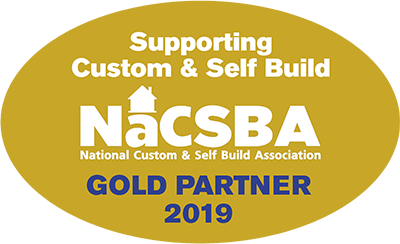 National Custom & Self Build Association Gold Member Logo
